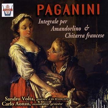 Paganini : Integrale per amandorlino & chitarra francese