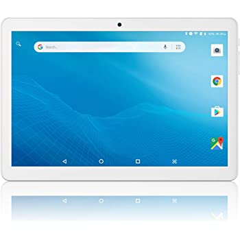 Tablet 10 inch Android Go 8.1 Google Certified, Tablet PC with TF Card Slot and Dual Camera,16GB Storage,Dual Band 5GHz/2.4GHz WiFi,Bluetooth, GPS