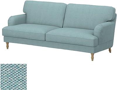 Soferia - IKEA KARLSTAD Funda para sofá de 3 plazas, Nordic ...