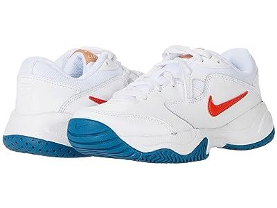 Nike Kids Court Jr. Lite 2 Tennis (Little Kid/Big Kid)