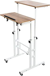Best small portable desk on wheels Reviews