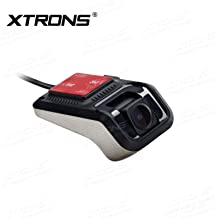 XTRONS Full HD 1080P Car DVR Road Video Recorder Dash Camera Car Driving Recorder with 140° Wide Angle, Loop Recording