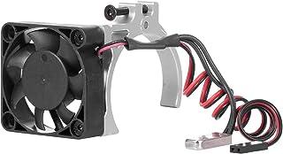 GoolRC RC Car Motor Heatsink Cooling Fan with Thermal Sensor CNC Aluminum Alloy Clamp Heatsink for 4268 4274 Motors 1/8 1/...