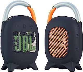 Stehen Silikon Hülle für JBL Clip 4 Bluetooth Lautsprecher, Seracle Silicone Case Cover Tasche für JBL Clip 4 Lautsprecher (Black)