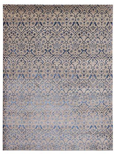 Nuevo color gris 170x240 cm - 5'7''x7'10'' pies Tradicional Handanudted Modern Design Area Alfombras y alfombra