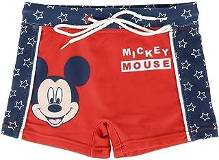 Disney Mickey Mouse Bañador para Niños, Boxers, Natacion, Slips, Vacaciones Piscina Playa, Secado Rápido y Transpirables, ...