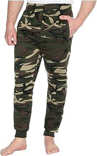 faf9caa3f9f Red Tag Mens Plus Size Slim Fit Camo Print Joggers Pockets