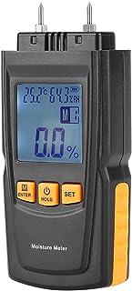 Tester Humidimètre 2 Broches détecteur d'humidité Digital LCD d'humidité en Bois d'humidité pour Bois de Chauffage humidit...