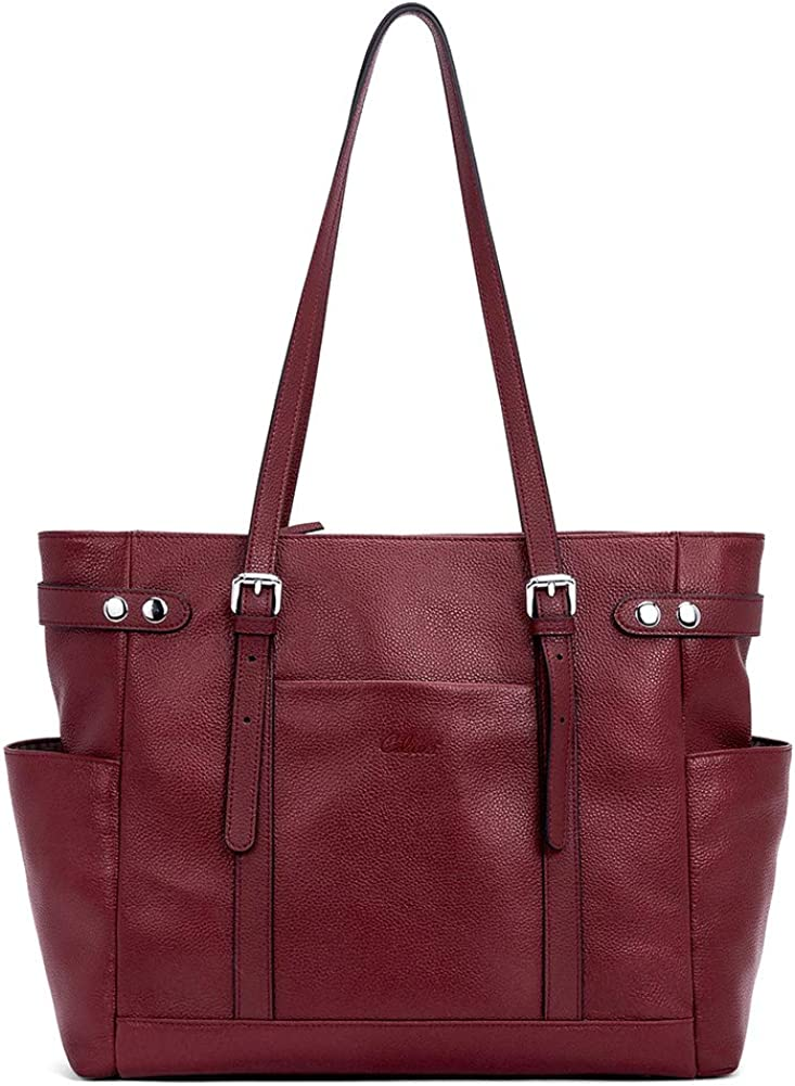 Laptop Totes for Women Genuine Leather Max 81% OFF Sh Ladies Large SALENEW very popular Briefcase