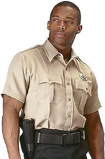 Short Sleeve Uniform Shirt - Khaki