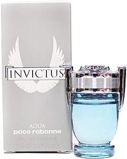 Paco Rabanne Invictus Aqua Eau De Toilette Mini for Men, 0.16 Fluid Ounce