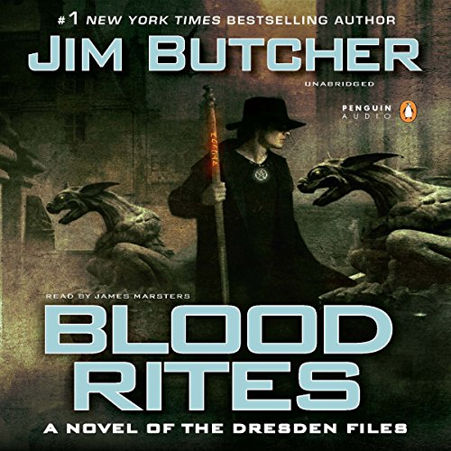 Blood Rites     The Dresden Files, Book 6              De :                                                                                                                                 Jim Butcher                               Lu par :                                                                                                                                 James Marsters                      Durée : 13 h et 5 min     5 notations     Global 4,8