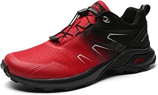 LBWNB Outdoor Men's Boots Lightweight Breathable Training Shoes Breathable Soft Comfortable Lightweight Anti-Slip Ankle Bo...