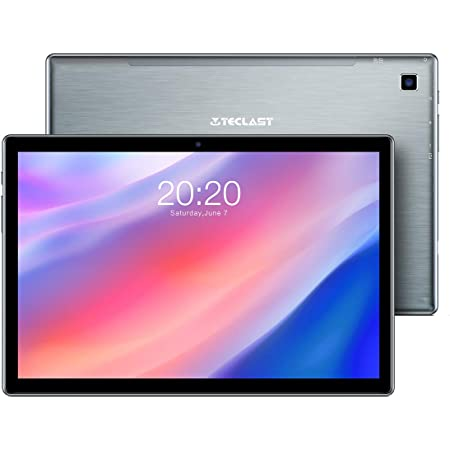 TECLAST P20HD Tablet 10.1 Pulgadas, 4GB RAM 64GB ROM + 4G LTE GPS, Octa-Core 1.6 GHz Android 10, 1920×1080 Full HD IPS, (TF de Expansión 128GB)Bluetooth 5.0/WiFi/Dual SIM/Batería 6000mAh/Carga Type C