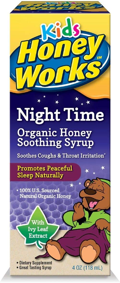 Honeyworks Kid's Night Time Blue 4 Fluid service Ounce Cash special price