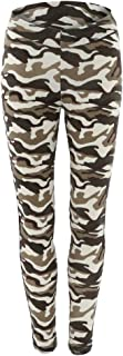 F Fityle Women Sports Camouflage Yoga Fitness Leggings Gym Stretch High Waist Pants