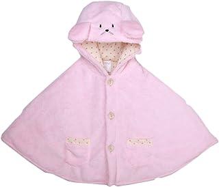 SUPEYA Toddler Baby Boys Girls Coats Outerwear Cartoon Bear Fleece Cloak Poncho Cape