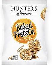 Hunter's Gourmet Baked Pretzos with White & Black Sesame - 80gm