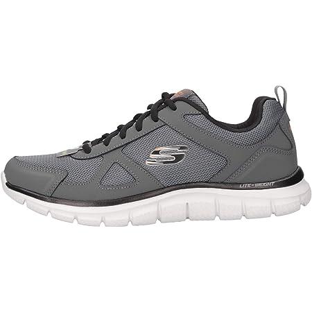Skechers 52631-ccbk_42, Chaussures de Sport Homme, Grey
