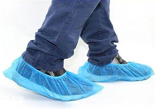 100 Surchaussures BLEU médicales à usage unique, Beautyful Center, Couvre Chaussures Jetables standard bleu x 100 piè...