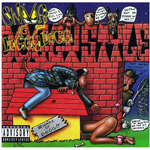 NRRTBWDHL Snoop Dogg Doggystyle Hip Hop Rapper Star Art Poster Leinwand Malerei Wohnkultur Poster und Drucke -50x50cm No Frame