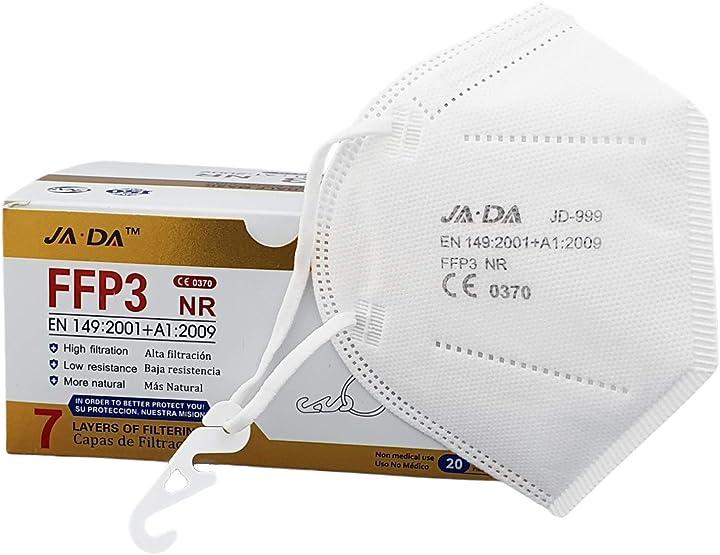Mascherine ffp3 certificate ce filtraggio 99% JD-999