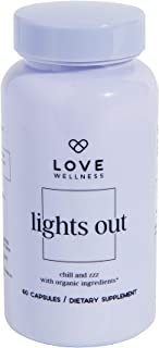 Love Wellness Lights Out Supplement, Natural and Organic Sleep Aid
