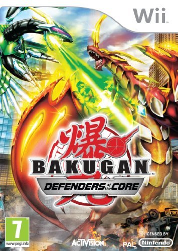 Bakugan Battle Brawlers: Defender of the Core (Wii) by ACTIVISION