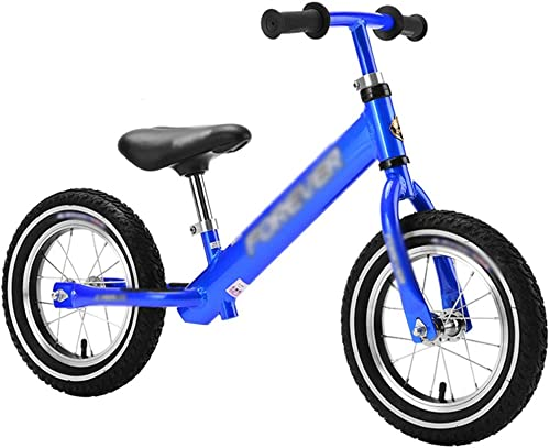 YJFENG Vélo D'équilibre Draisiennes Enfant Aluminum Alloy No Pedal Height Adjustable,3 Couleurs (Couleur   bleu, Taille   90x60cm)
