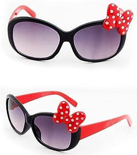 Eteng - Eteng Kids Gafas de Sol Niños Niños Niñas Lindas Bow Glasses Soft Gaw Gafases Polarizadas Polarizadas con Protección UV