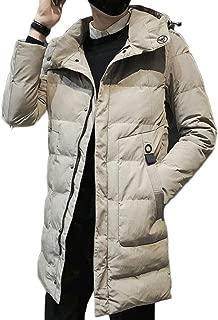 M/&S/&W Mens Winter Woolen Coat Business Down Jacket Trench Coat