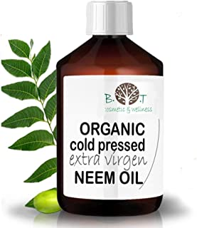 comprar comparacion B.O.T cosmetic & wellness Aceite de Neem Virgen Prensado en Frío Primera Presión 100% Puro Bio Non Refinado (100 ml) Azadi...
