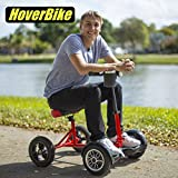 HOVERBIKE - SITTING ATTACHMENT FOR HOVERBOARD. HOVERBOARD BIKE ATTACHMENT TO RIDE HOVERBOARDS SITTING.