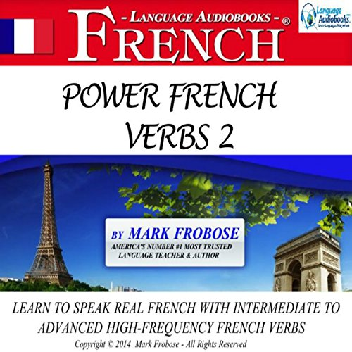 Power French Verbs 2 audiobook cover art