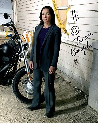 JANEANE Mail order cheap GAROFALO signed CRIMINAL MINDS GRIFFITH Baltimore Mall BETH HARLEY D w