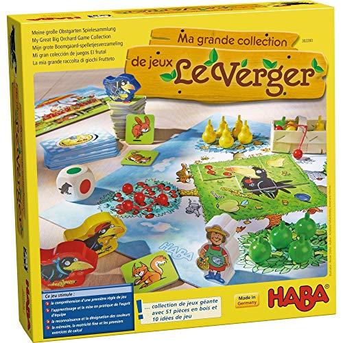 HABA - Ma grande collection de jeux Le verger, 302283