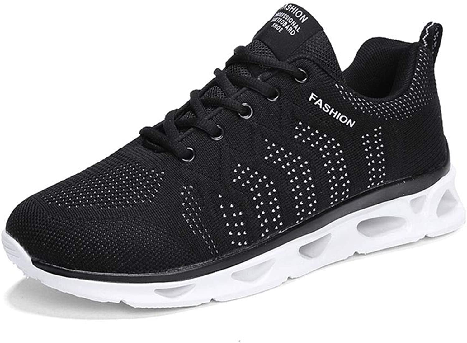 COSDN Womens Mens Fashion Freely Breathable Flyknit shoes Running Lightweight Youth Sneakers