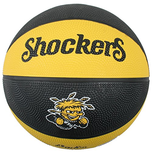 Learn More About Wichita State Shockers Mini Rubber Basketball