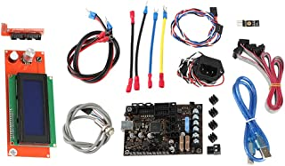 gazechimp 3D Printer Einsy Rambo 1.1a Mainboard+LCD+Sensor+ PINDA V2+Power Panic