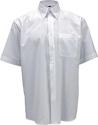 Camisa Manga Corta Hombre con Bolsillo