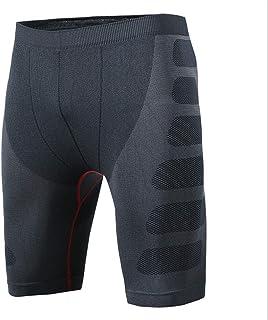 Uomini Uomo Bicicletta Pantaloni Breve Pantaloni Corsa Compressione Shorts Jogging