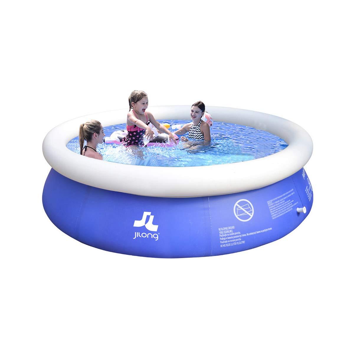 MANPATEL Piscinas hinchables Piscinas para niños Fast Set Piscina Desmontable Redonda 180 * 73cm: Amazon.es: Jardín