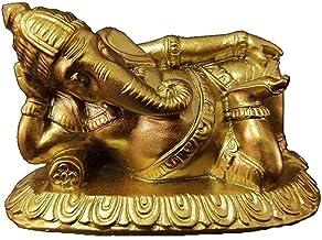Worth Having - Ganesha Buddha Statue, Meditation Ornament, Resin Sleeping Elephant God Sculpture, Living Room Home Garden ...