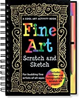Fine Art Scratch and Sketch: A Cool Art Activity Book for Budding Fine Artists of All Ages (Scratch & Sketch)