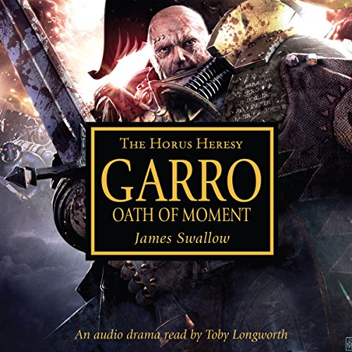Garro: Oath of Moment audiobook cover art