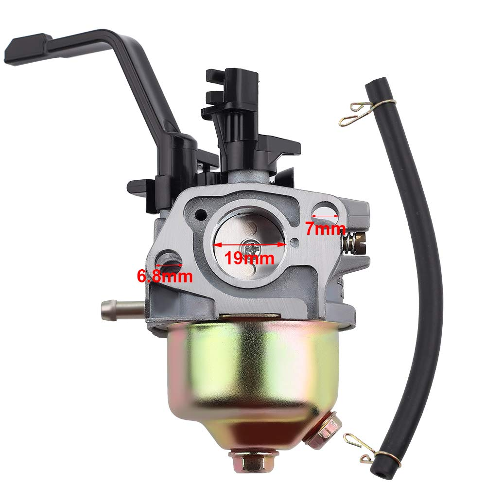 Carburetor Kit 5.5hp /& 6.5hp 163cc 196cc 200cc For Honda Similar Clone Engines