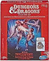 Hasbro ゲームストレンジャーシングス ダンジョンズ&ドラゴンズ ロールプレイングゲームスターターセット 標準 マルチカラー E3702