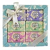 Gloss - caja de baño, caja de regalo para mujeres - Set de Baño Regalo - Wild Garden - Magnolia, Cereza y Lavanda