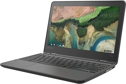 "Lenovo 11.6"" 300e Chromebook Touchscreen LCD 2 in 1 Chromebook - MediaTek M8173C Quad-core 2.1GHz 4GB LPDDR3 32GB Flash Memory Chrome OS Model 81H00000US"