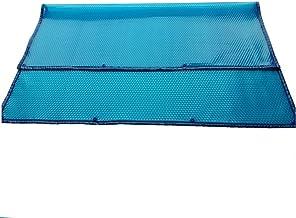 ZCJB Cobertor Piscina PE Pool Cover con Borde de Ojal, Manta Calefactora Azul para Piscinas Enterradas y Elevadas, Size : 4m x 8m(13ft×26ft)